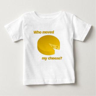 T-shirt Pour Bébé Qui a déplacé le fromage