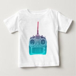 T-shirt Pour Bébé Radio bleue/rose de style de Miami de Spektrum RC