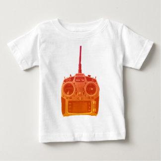 T-shirt Pour Bébé Radio orange/rouge de style de Miami de Spektrum