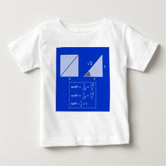 T-shirt Pour Bébé Raisons trigonométriques de 45º
