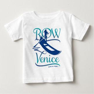 T-shirt Pour Bébé Rangée Venise