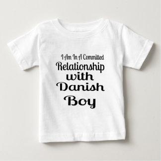 T-shirt Pour Bébé Rapport avec le garçon danois