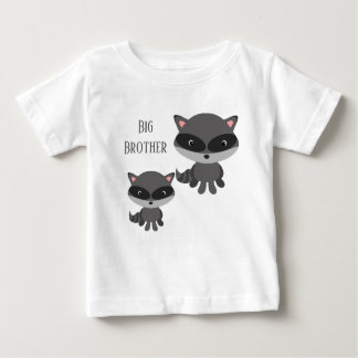 T-shirt Pour Bébé Raton laveur de frère