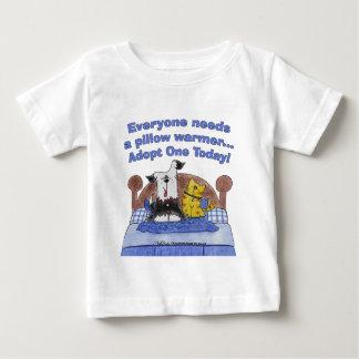 T-shirt Pour Bébé Réchauffeurs de coussin