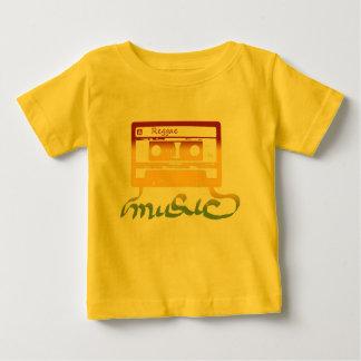 T-shirt Pour Bébé reggae de bande de rasta