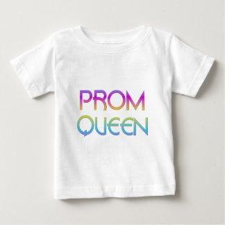 T-shirt Pour Bébé Reine du bal de promo