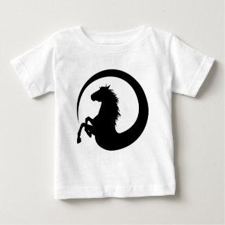 T-shirt Pour Bébé Remous de cheval