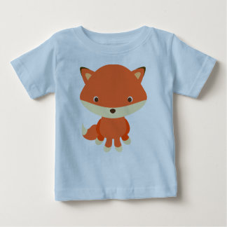 T-shirt Pour Bébé renard
