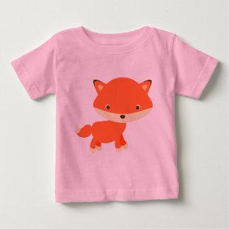 T-shirt Pour Bébé Renard orange