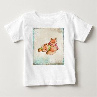 T-shirt Pour Bébé Renards