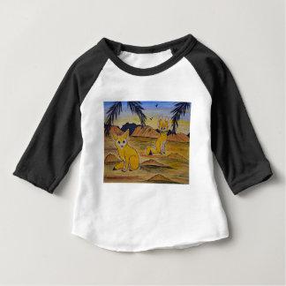 T-shirt Pour Bébé Renards de Fennec dans le désert