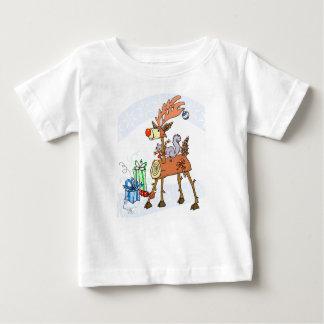 T-shirt Pour Bébé Renne de bâton