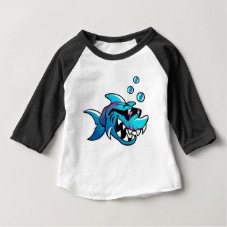 T-shirt Pour Bébé Requin frais avec des lunettes de soleil