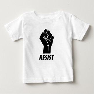 T-shirt Pour Bébé résistez au poing