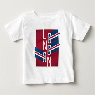 T-shirt Pour Bébé Rétro typographie illustrée de Londres, Angleterre
