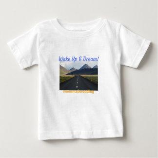 T-shirt Pour Bébé Réveillez-vous et rêvez