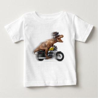 T-shirt Pour Bébé Rex de moto-tyrannosaurus-t de rex de T -