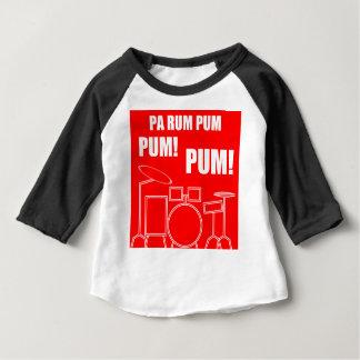 T-shirt Pour Bébé Rhum Pum Pum Pum de PA
