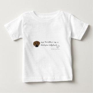 T-shirt Pour Bébé ridgeback - plus multiplie
