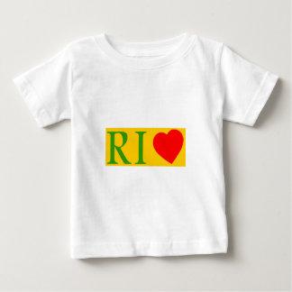 T-shirt Pour Bébé Rio de janeiro love