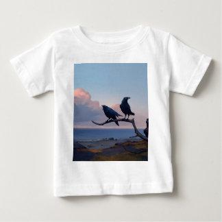 T-shirt Pour Bébé Rivage de désespoir