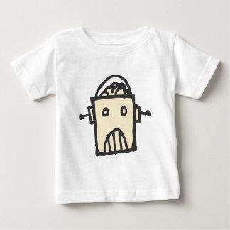 T-shirt Pour Bébé Robot fâché avec le cerveau