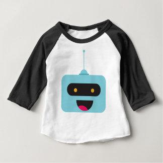 T-shirt Pour Bébé Robot heureux
