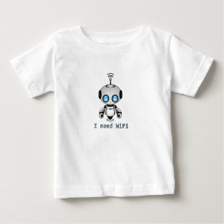 T-shirt Pour Bébé Robot mignon