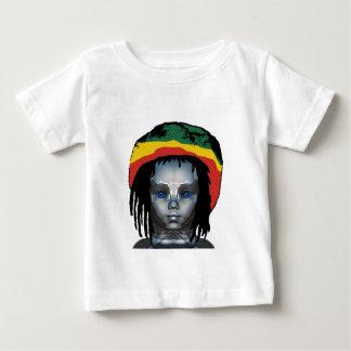 T-shirt Pour Bébé Robotique Rastafarian