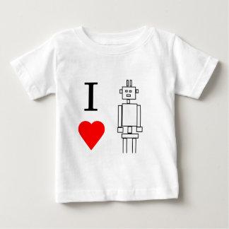 T-shirt Pour Bébé robots du coeur i