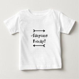 T-shirt Pour Bébé Roches d'adoption !