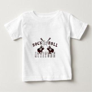 T-shirt Pour Bébé Rocks and Roll attitude