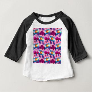 T-shirt Pour Bébé Rose du Colorado d'aquarelle