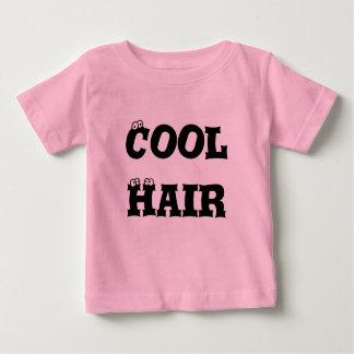 T-shirt Pour Bébé Rose frais de cheveux de bébé