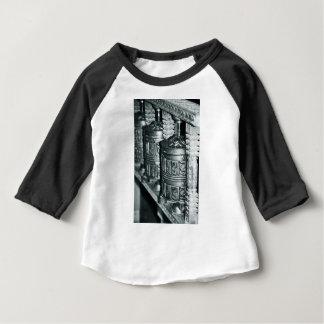 T-shirt Pour Bébé Roues de prière bouddhistes