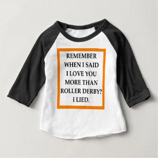 T-shirt Pour Bébé rouleau Derby