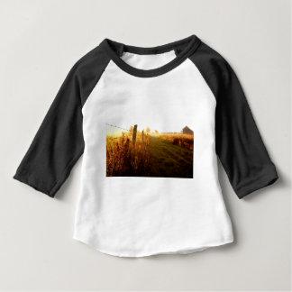 T-shirt Pour Bébé Ruelle de pays, Ontario du nord Canada