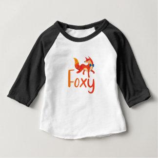 T-shirt Pour Bébé Rusé élégant avec le Fox illustré pour le bébé