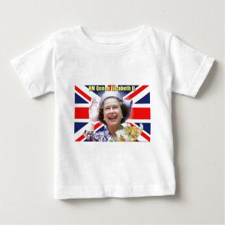 T-shirt Pour Bébé S.M. la Reine Elizabeth II