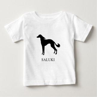 T-shirt Pour Bébé Saluki