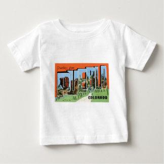 T-shirt Pour Bébé Salutations de pueblo, le Colorado !