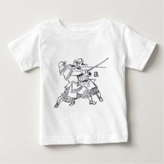 T-shirt Pour Bébé Samourai spirit 1