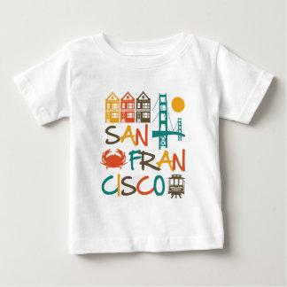 T-shirt Pour Bébé San Francisco
