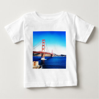 T-shirt Pour Bébé San Francisco golden gate bridge la Californie