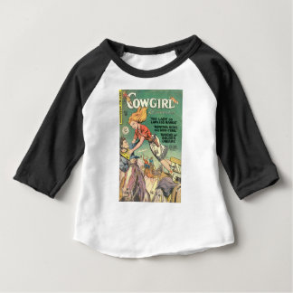 T-shirt Pour Bébé Saut de la cow-girl
