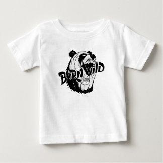 T-shirt Pour Bébé Sauvage né
