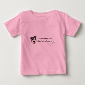 T-shirt Pour Bébé schnauzer miniature
