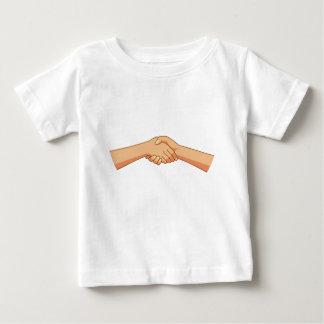 T-shirt Pour Bébé Se serrer la main