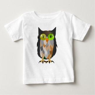 T-shirt Pour Bébé Séance de hibou de bande dessinée