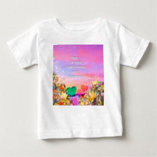 T-shirt Pour Bébé Sentir la nature avec mon amour